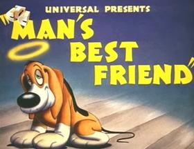Screenshots from the 1941 Walter Lantz cartoon Man