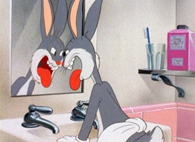 Screenshots from the 1942 Warner Bros. cartoon The Wabbit Who Came to Supper
