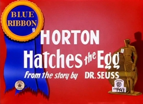 Screenshots from the 1942 Warner Brothers cartoon Horton Hatches the Egg