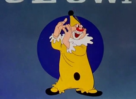Screenshots from the 1942 Warner Brothers cartoon Lights Fantastic