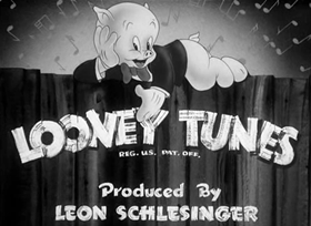 Screenshots from the 1942 Warner Brothers cartoon The Ducktators