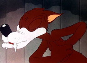 Screenshots from the 1942 Warner Brothers cartoon The Hep Cat