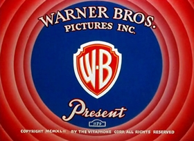 Screenshots from the 1942 Warner Brothers cartoon My Favorite Duck