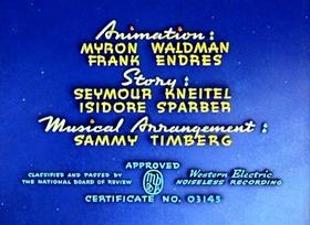 Screenshots from the 1942 Fleischer Studio cartoon Billion Dollar Limited