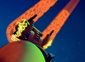 Screenshots from the 1942 Fleischer Studio cartoon The Magnetic Telescope
