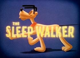 Screenshots from the 1942 Disney cartoon The Sleep Walker