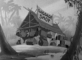 Screenshots from the 1942 Paramount / Famous Studios cartoon Alona on the Sarong Sea
