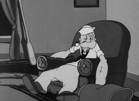 Screenshots from the 1942 Paramount / Famous Studios cartoon Me Musical Nephews