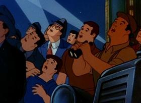 Screenshots from the 1942 Paramount / Famous Studios cartoon Japoteurs