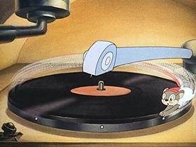 Screenshots from the 1942 Walter Lantz cartoon Juke Box Jamboree