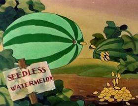 Screenshots from the 1942 Walter Lantz cartoon Andy Panda