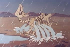 Screenshots from the 1942 Walter Lantz cartoon Boogie Woogie Sioux