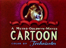 Screenshots from the 1943 MGM cartoon Sufferin
