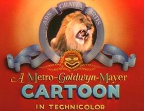 Screenshots from the 1943 MGM cartoon Bah Wilderness
