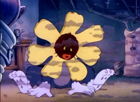 Screenshots from the 1943 MGM cartoon Yankee Doodle Mouse