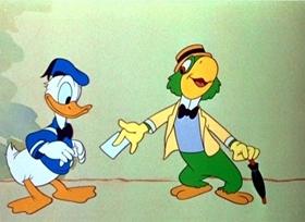 Screenshots from the 1943 Disney cartoon Aquarela do Brasil