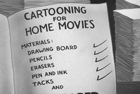 Screenshots from the 1943 Paramount / Famous Studios cartoon Cartoons Ain