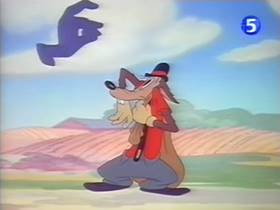 Screenshots from the 1943 Paramount / Famous Studios cartoon No Mutton For Nuttin