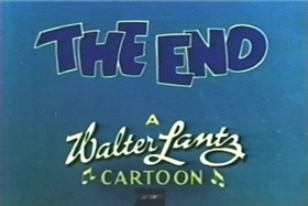 Screenshots from the 1943 Walter Lantz cartoon Cow Cow Boogie