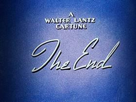 Screenshots from the 1943 Walter Lantz cartoon The Dizzy Acrobat