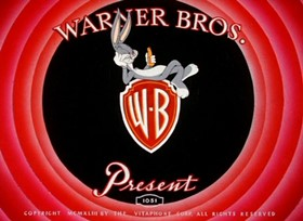 Screenshots from the 1943 Warner Brothers cartoon Wackiki Wabbit