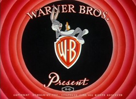 Screenshots from the 1943 Warner Brothers cartoon Falling Hare