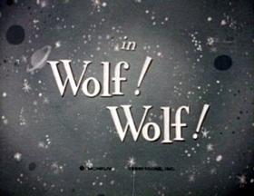 Screenshots from the 1944 Terrytoons cartoon Wolf! Wolf!