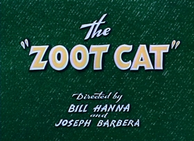 Screenshots from the 1944 MGM cartoon The Zoot Cat