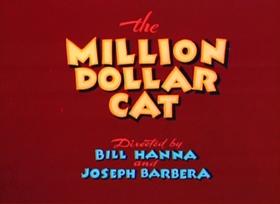 Screenshots from the 1944 MGM cartoon Million Dollar Cat