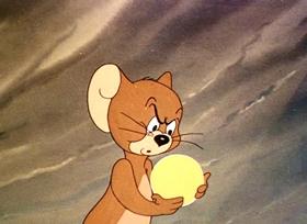 Screenshots from the 1944 MGM cartoon The Bodyguard