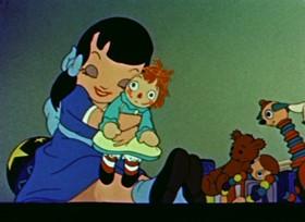 Screenshots from the 1944 Paramount / Famous Studios cartoon Suddenly It