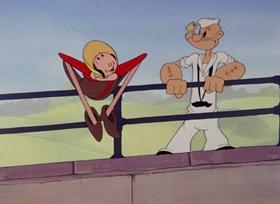 Screenshots from the 1944 Paramount / Famous Studios cartoon Pitchin