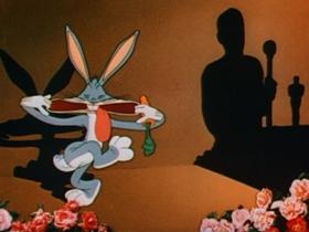 Screenshots from the 1944 Warner Bros. cartoon What