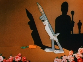 Screenshots from the 1944 Warner Brothers cartoon What