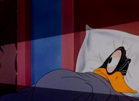 Screenshots from the 1944 Warner Bros. cartoon Tick Tock Tuckered