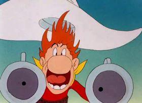 Screenshots from the 1944 Warner Brothers cartoon Buckaroo Bugs