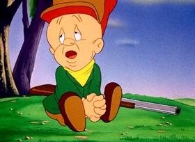 Screenshots from the 1944 Warner Bros. cartoon The Old Grey Hare