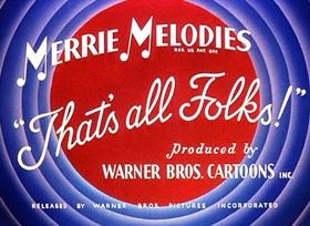 Screenshots from the 1944 Warner Brothers cartoon Stage Door Cartoon