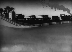Screenshots from the 1944 Warner Bros. cartoon The Chow Hound