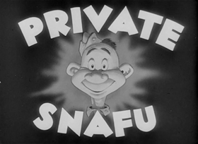 Screenshots from the 1944 Warner Brothers cartoon Pay Day