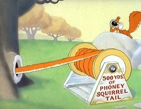 Screenshots from the 1945 MGM cartoon Screwy Truant