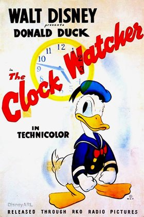the clock watcher 1945 the internet animation database. Black Bedroom Furniture Sets. Home Design Ideas