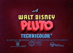 Screenshots from the 1945 Disney cartoon Dog Watch