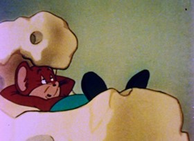 Screenshots from the 1945 Paramount / Famous Studios cartoon Scrappily Married