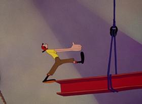 Screenshots from the 1945 Paramount / Famous Studios cartoon Mess Production