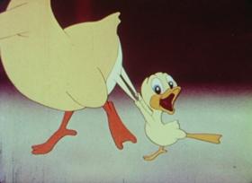 Screenshots from the 1945 Paramount / Famous Studios cartoon Old MacDonald Had a Farm