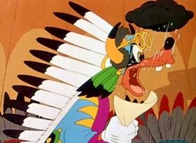 Screenshots from the 1945 Disney cartoon Californy