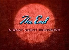 Screenshots from the 1945 Disney cartoon Canine Casanova