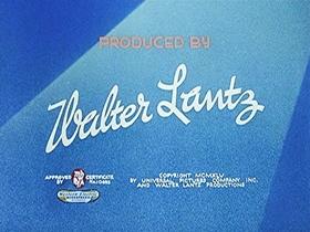 Screenshots from the 1945 Walter Lantz cartoon Dippy Diplomat