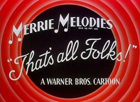Screenshots from the 1945 Warner Brothers cartoon Hare Trigger
